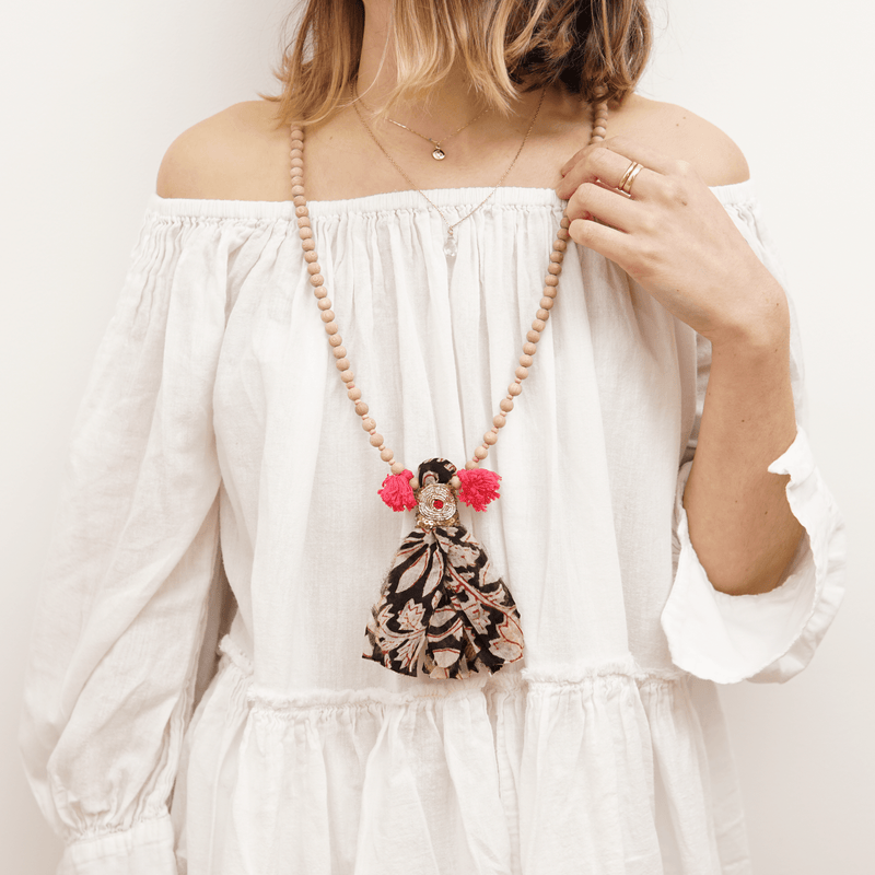 Anika Tassel Necklace