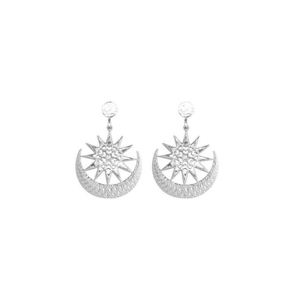 ECLIPSE-EARRINGS-HAMMERED-TOP-SILVER-CABINET-JEWELLERY