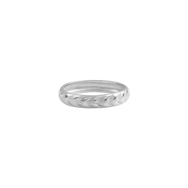 ENGRAVED-FROND-PALM-RING-SILVER-CABINET-JEWELLERY