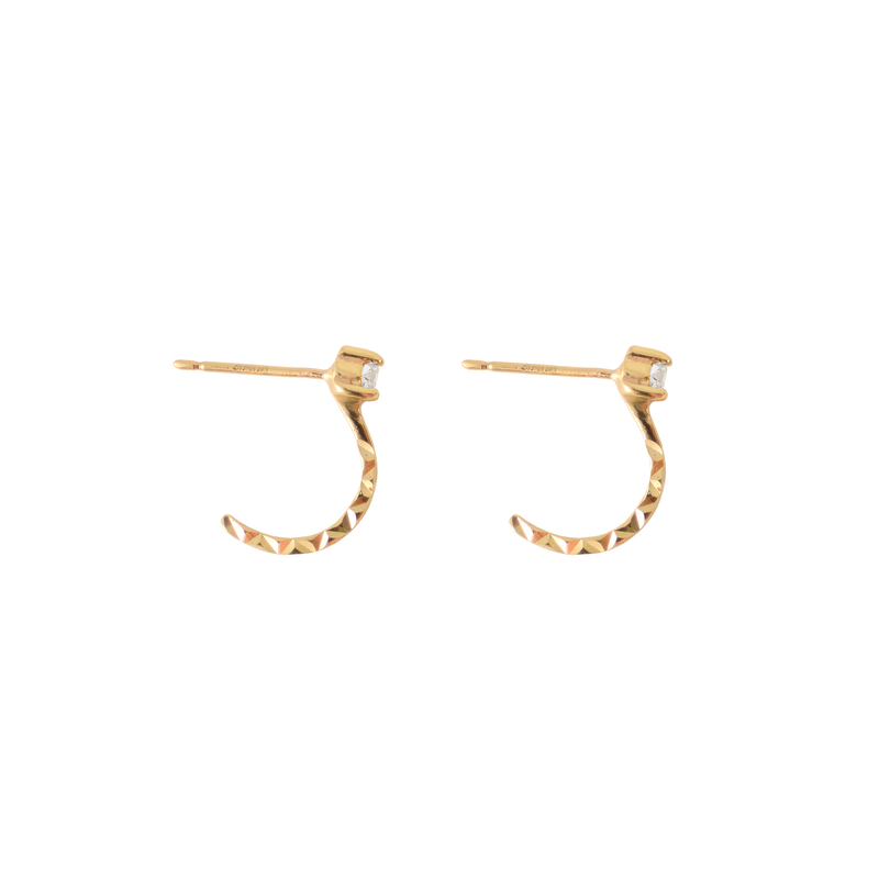 TIDE STONE EAR CUFFS DIAMOND