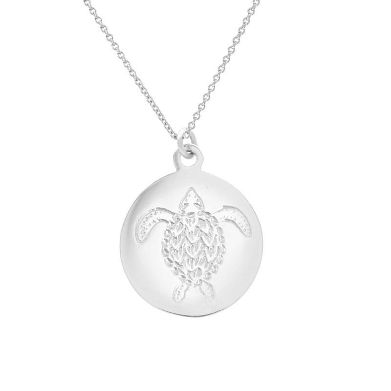 RIDLEY-TURTLE-COIN-PENDANT-SILVER-CABINET-JEWELLERY