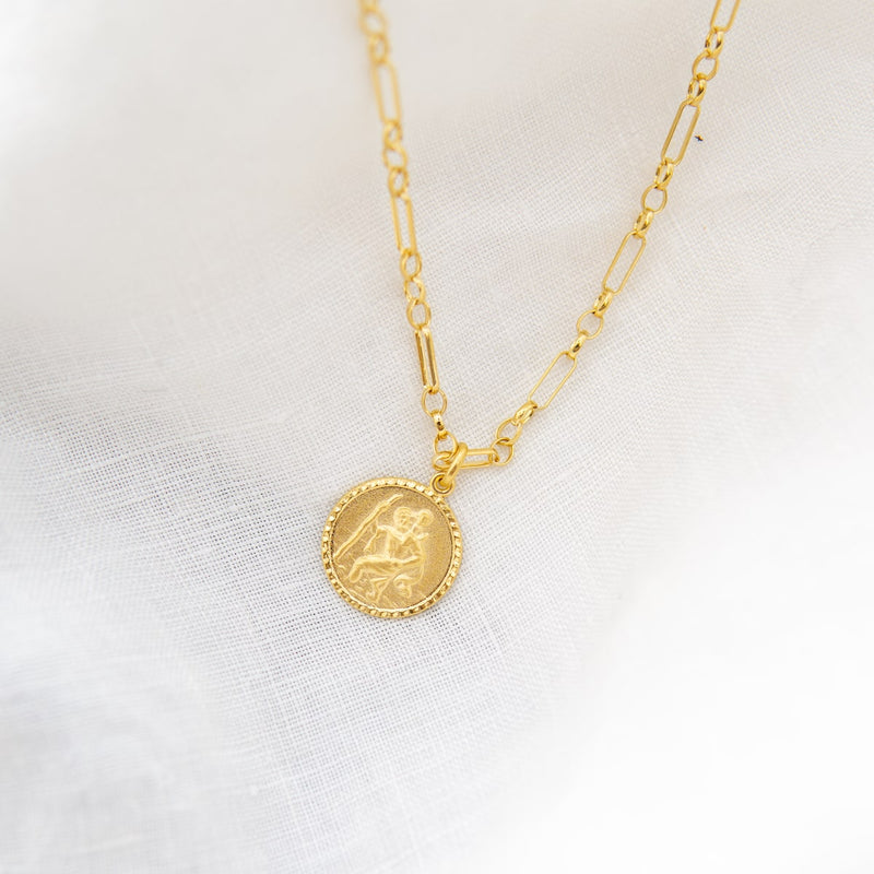 St Christopher Amulet Margo Chain Cabinet Jewellery