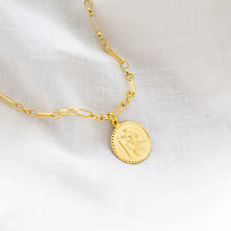 St Christopher Amulet Margo Chain