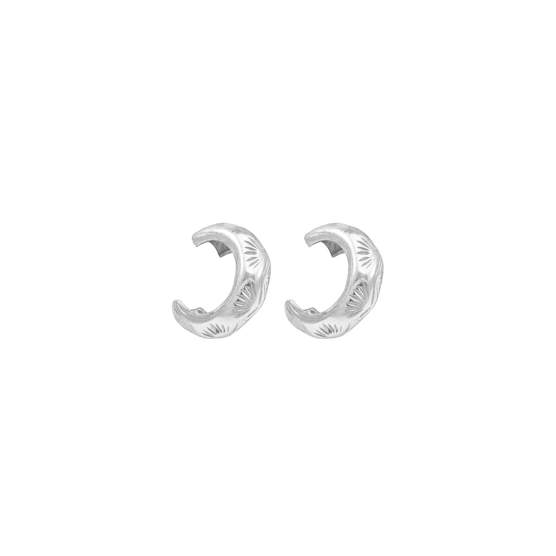 THATCH-PALM-EAR-CUFFS-SILVER-CABINET-JEWELLERY
