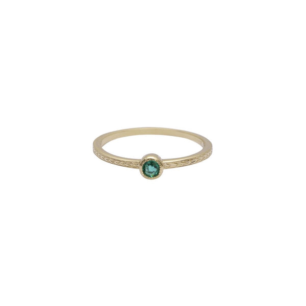UNION RING - EMERALD