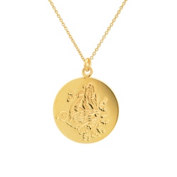 AEONIAN PARROT COIN PENDANT