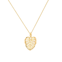 EDEN LEAF NECKLACE