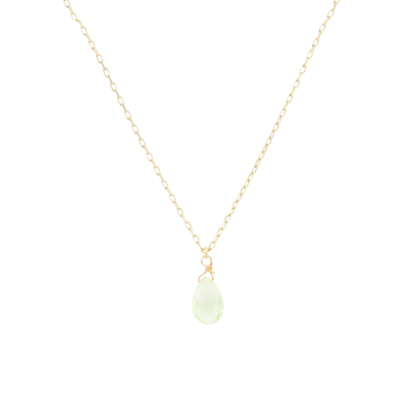 Green Quartz Drop