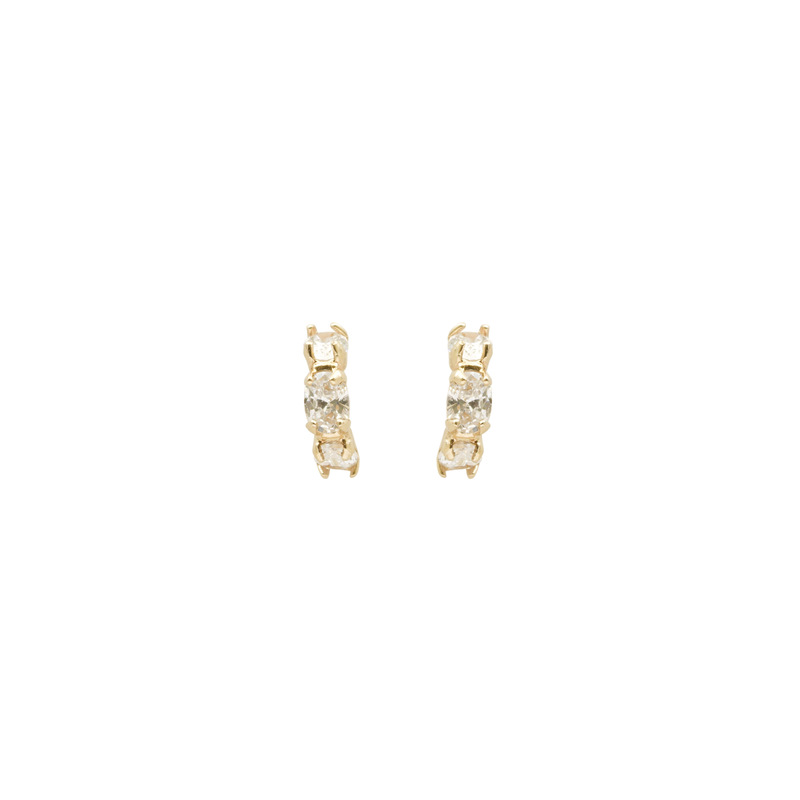 Mini Jewelled Accord Earrings