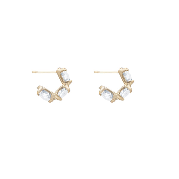 JEWELLED ACCORD EARRINGS CRYSTAL