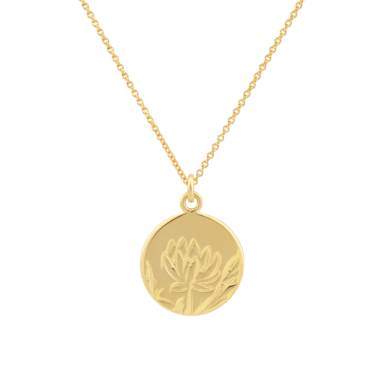 PEACE COIN PENDANT