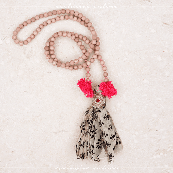 Sahana Tassel Necklace