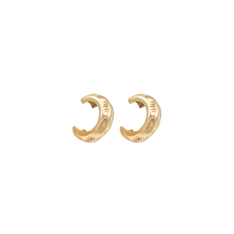 THATCH PALM EAR CUFFS