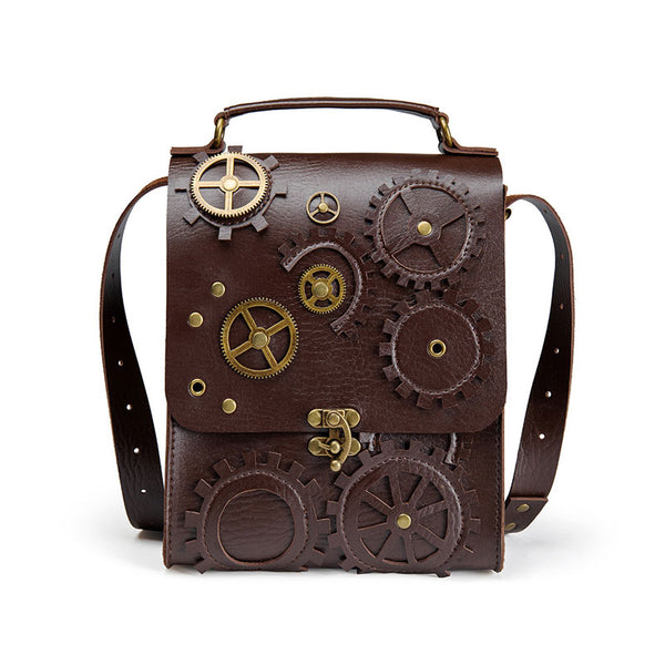 Punk Steam Chain Shoulder Bag