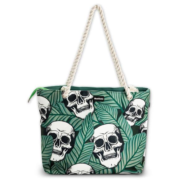 [PRE-SALE] Skullistic Flower Shoulder Beach Bag