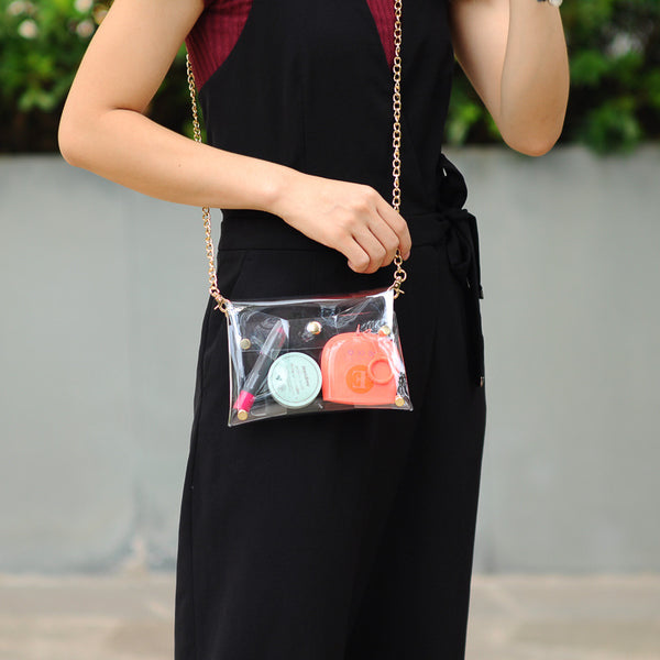 Transparent Jelly Shoulder Bag