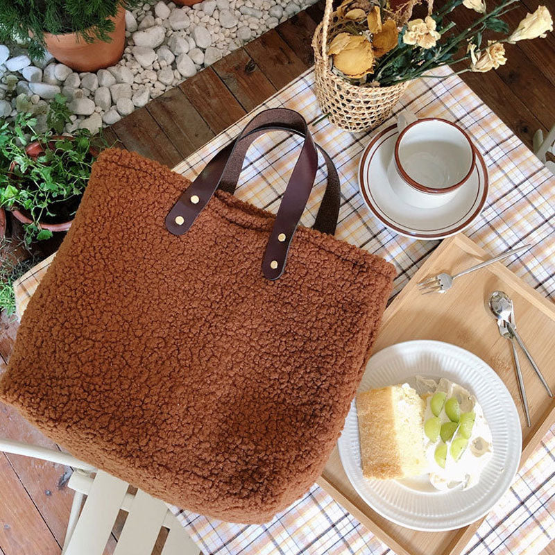 Vintage Lamb Canvas Bag