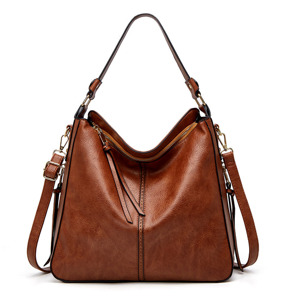 Zipper Tote Handbag Bag