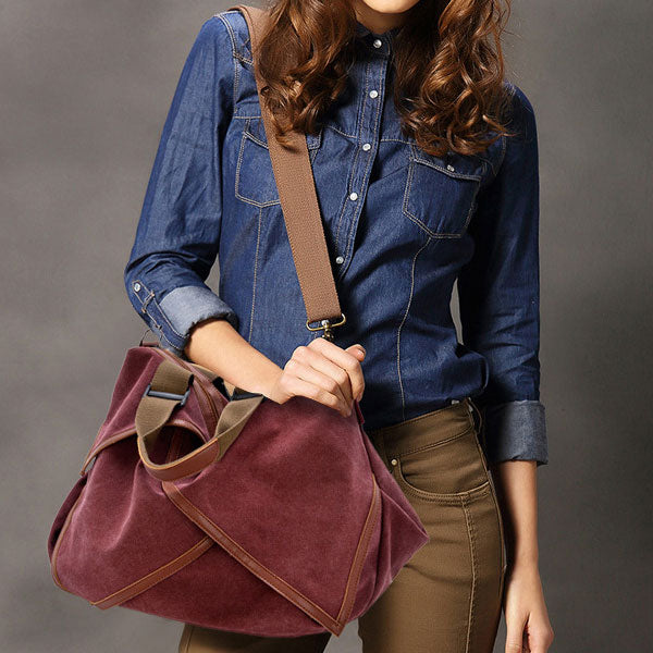 Retro Canvas Cross Handbag Shoulder Bag