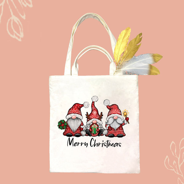 Merry Christmas Santa Claus Canvas Bag