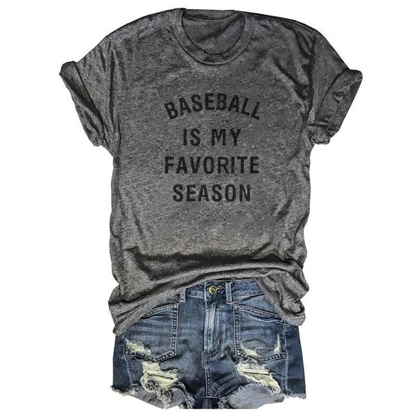 [Pre-Sale] Baseball Is My Favorite Season Tee