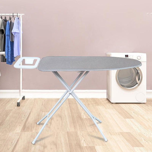 [US Warehouse]White Vertical Ironing Board With Iron Placement Area
