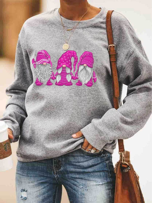 Hanging With Pink Gnomies Sweatshirt