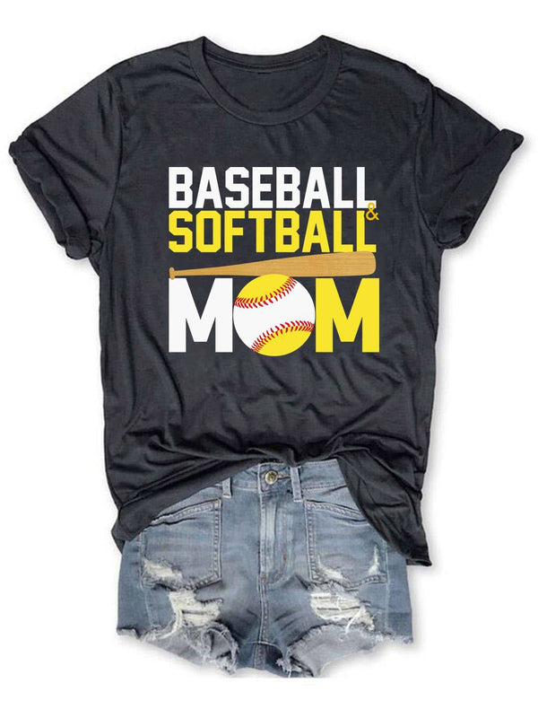 Baseball And Softball  Tee