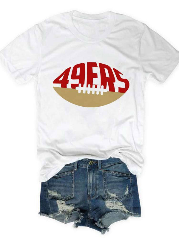 49ERS Football Team Tee