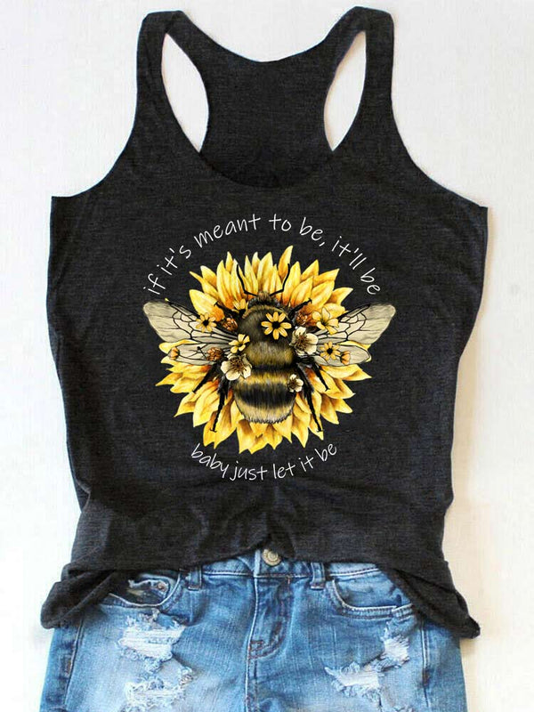 Baby Just Let It Bee Tank Top