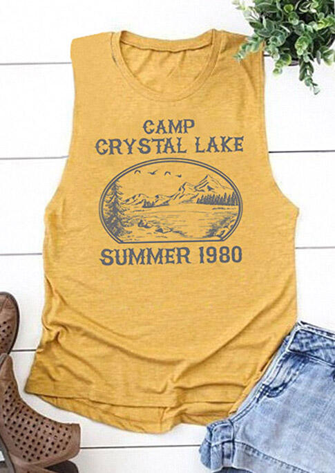 Camp Crystal Lake Summer 1980 Tank Top