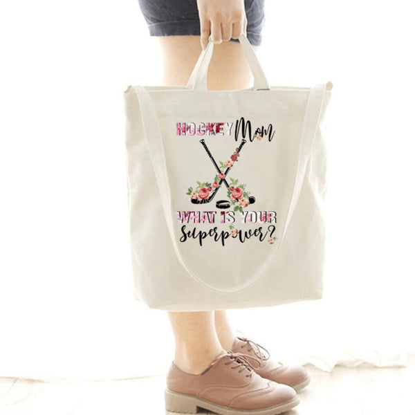 [Special Offer] Hockey Mom What Is You Canvas Bag