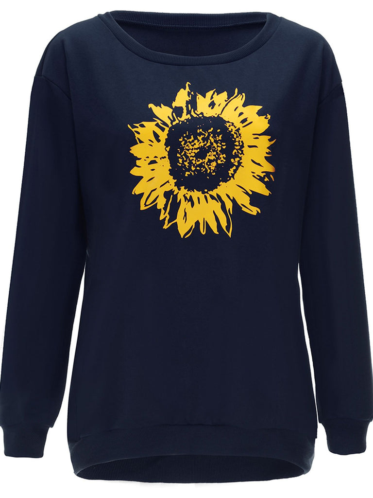 Sunflower O Neck Sweatshirt