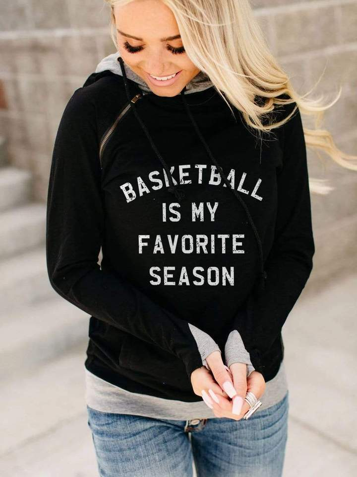 Basketball Is My Favorite Season Hoodie