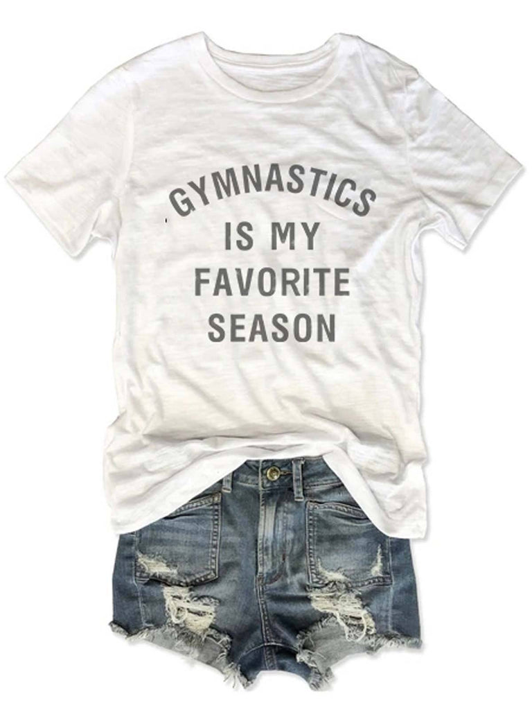 Gymnastic Is My Favorite Season Tee