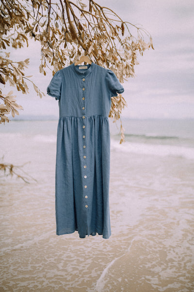 The Summer Dress - Blue