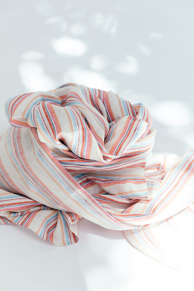 The Wrap Scarf - Summer Stripe