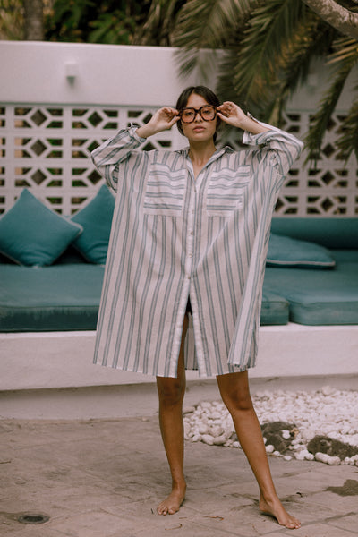 The Beach Shirt - stripe