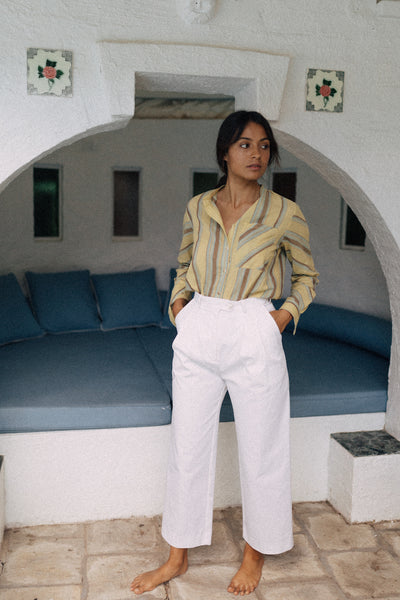 The Trouser  - White