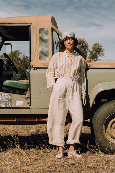 THE EVERYDAY PANT - LINEN - mygeneral-store