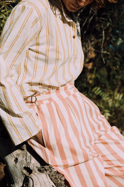 THE SOCIAL SHIRT - STRIPE - mygeneral-store