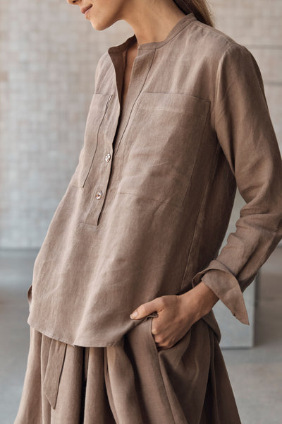 The Nomad Shirt - Hemp