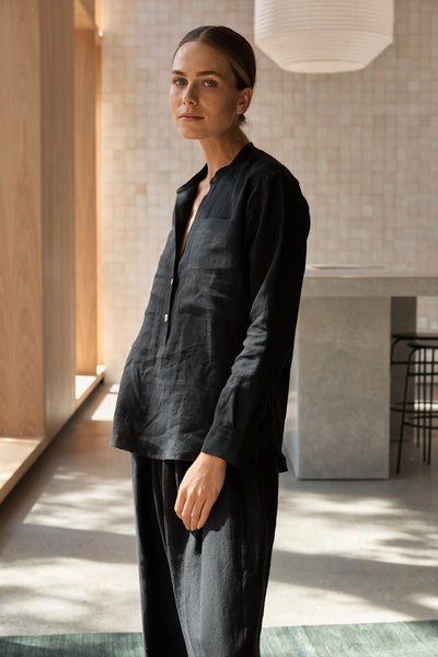 The Nomad Shirt - Black
