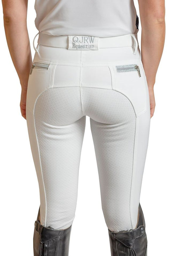 Zara all white breech