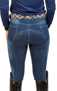Kids Ava Denim FULL SEAT Breech