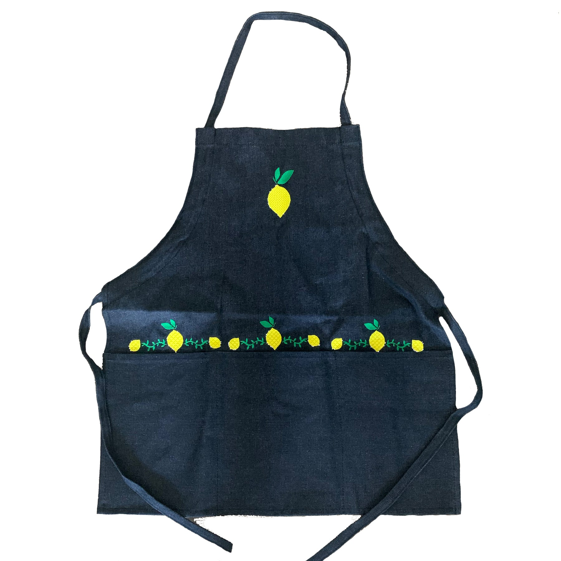 Denim Apron | Lemoncello