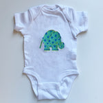 Elephant Onesie | Blue Colorway