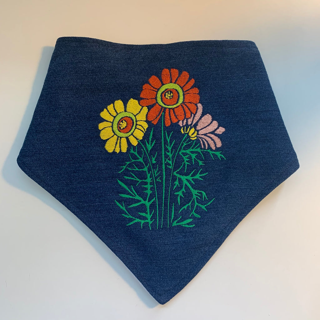 Flower Child Baby Bib