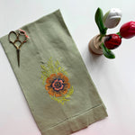 Green Towel | Sri Lanka Floral