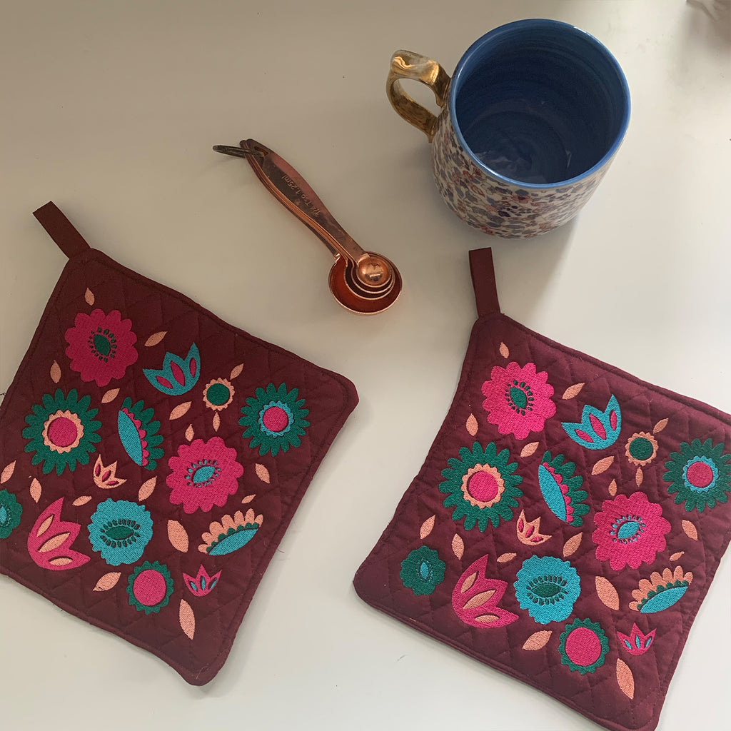 Pot Holder Set | Cabo Colorway